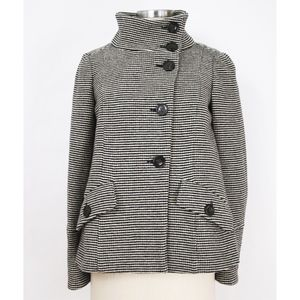 • Weekend MaxMara • Striped Wool Coat
